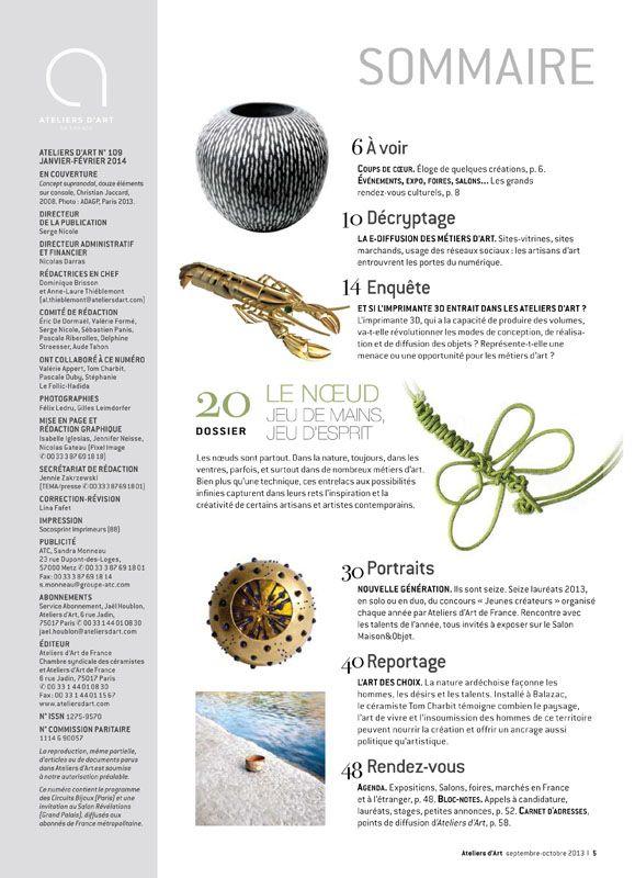 N° 109 janvier -février 2014
