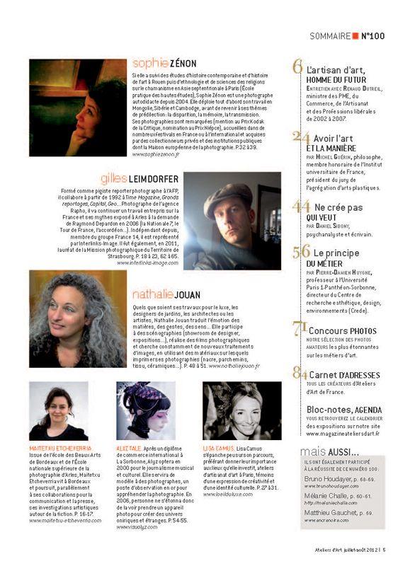 N° 100 juillet - août 2012