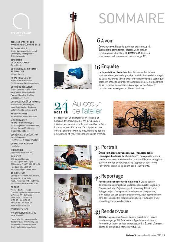 N° 108 novembre - décembre 2013