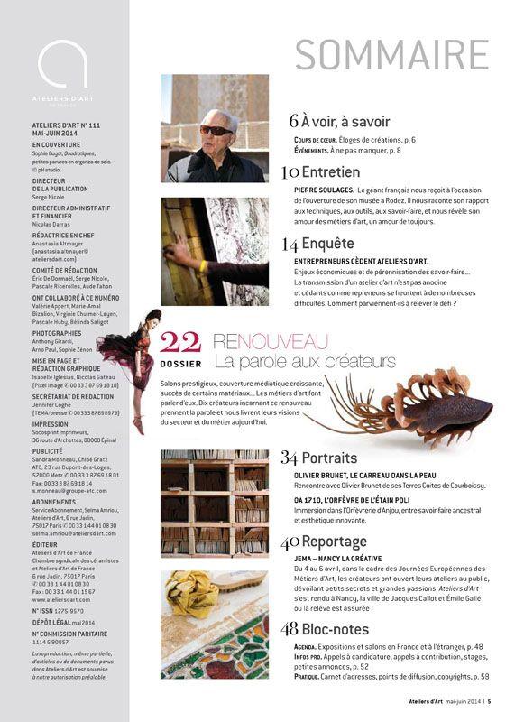 N° 111 mai- juin 2014