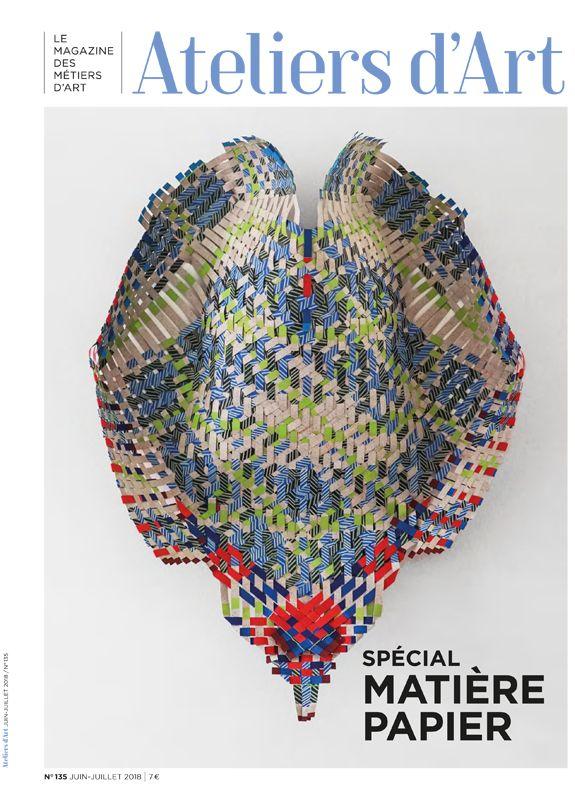Abonnement papier Revue de la Céramique et du Verre et Magazine Ateliers d'Art