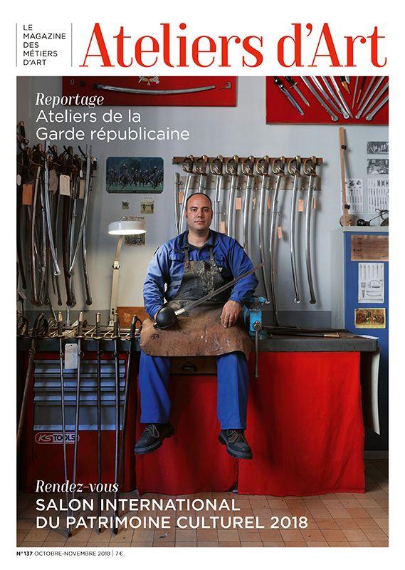 Abonnement papier au Magazine Ateliers d'Art