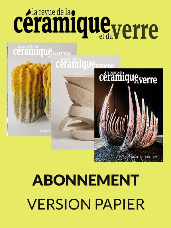 Abonnement papier Revue de la Céramique et du Verre