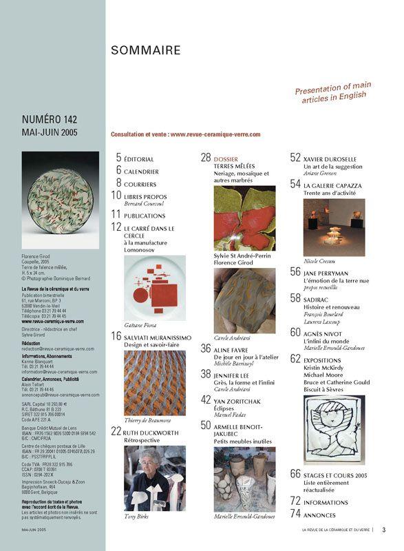 N° 142 mai-juin 2005