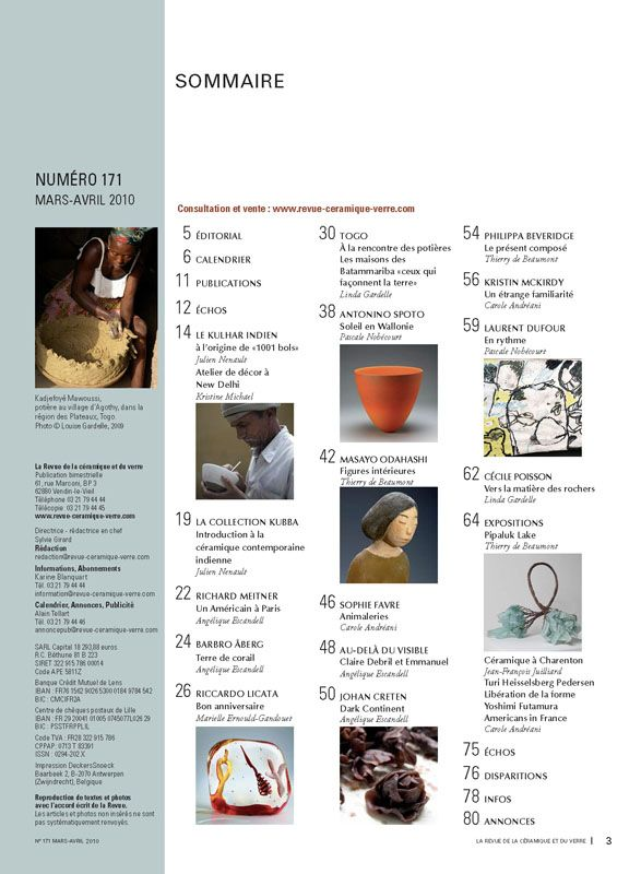 N° 171 mars-avril 2010