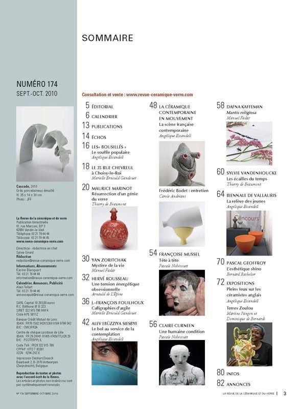 N° 174 septembre-octobre 2010