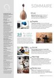 Magazine Ateliers d'Art N° 108 numérique - Sommaire - Editions Ateliers d'Art de France