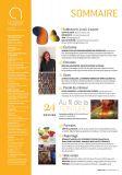 Magazine Ateliers d'Art N°129 - Sommaire - Editions Ateliers d'Art de France