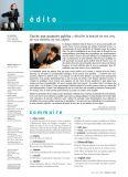 Magazine Ateliers d'Art N°74 - Sommaire - Editions Ateliers d'Art de France