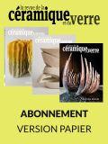 Abonnement papier Revue de la Céramique et du Verre - Editions Ateliers d'Art de France
