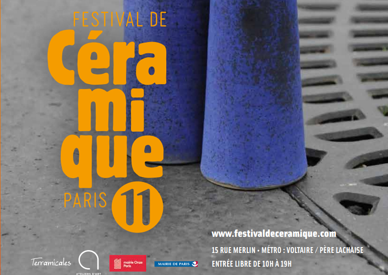 Festival de céramique Paris 11 - du 12 au 14 avril 2019